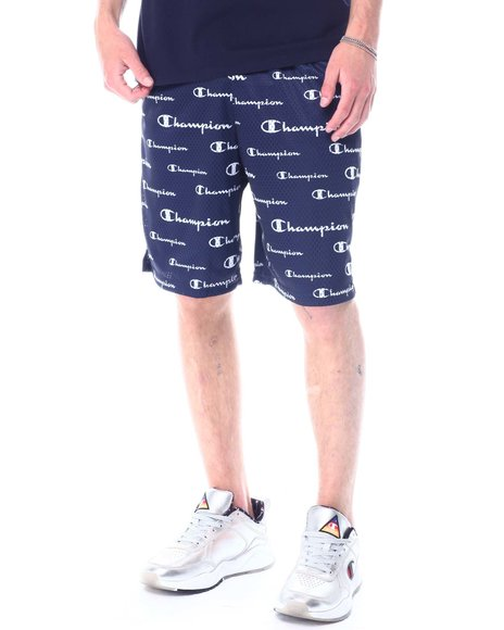 Champion - All over Script Mesh Short