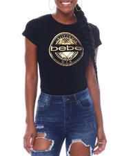 Bebe - Bebe Foil California Logo S/S Tee-2517254