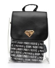 Backpacks - Baby Phat Printed Clear Backpack W/ Inner Bag-2518507