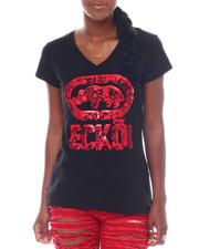 Ecko Red - Ecko Women's V-neck Tee-2523242