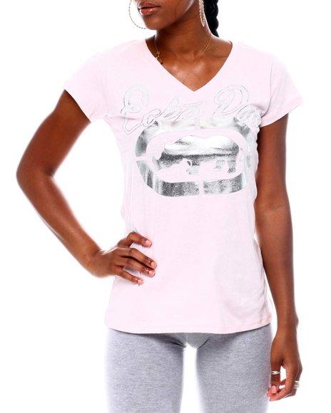 Ecko Red - Ecko Rhino Logo V-Neck S/S T-shirt