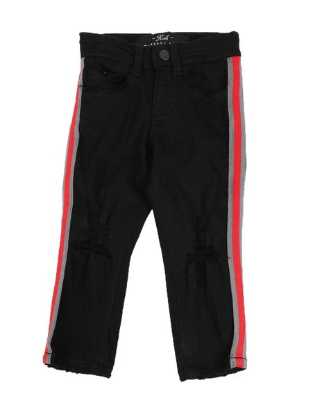 Jordan Craig - Taped Side Stretch 5 Pocket Jeans (2T-4T)