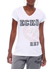 Ecko Red - Ecko Women's V-nk Tee-2523247