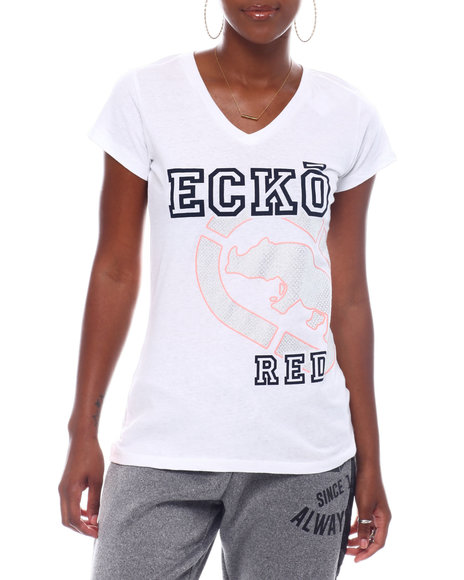 Ecko Red - Ecko Women's V-nk Tee