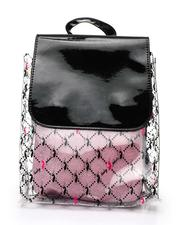 Backpacks - Baby Phat Printed Clear Backpack W/ Inner Bag-2518397