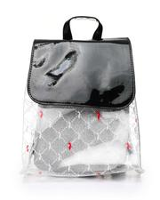 Backpacks - Baby Phat Printed Clear Backpack W/ Inner Bag-2518487