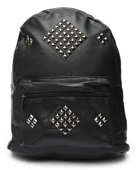 Fashion Lab - PU Studded Backpack