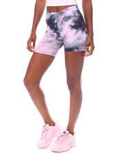 Women - Tie Dye Bike Shorts-2523289