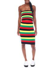 Fashion Lab - Set Midi Skirt With Tube Top-2523309