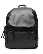Backpacks - PU Backpack W/ Flap Pocket-2518756