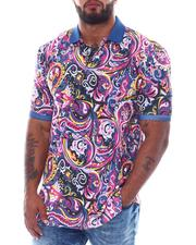 Shirts - Paisley Polo Shirt (B&T)-2511633