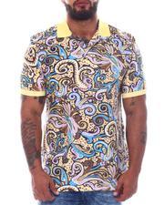 Shirts - Paisley Polo Shirt (B&T)-2511654