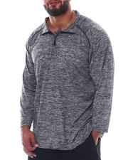 Shirts - 1/4 Zip Performace Long Sleeve Top (B&T)-2522441