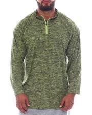 Shirts - 1/4 Zip Performace Long Sleeve Top (B&T)-2522451
