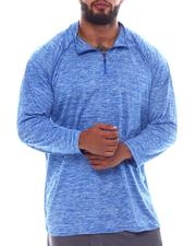 Shirts - 1/4 Zip Performace Long Sleeve Top (B&T)-2522482