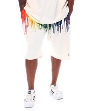 Makobi - Originals Paint Drip Shorts (B&T)-2522916
