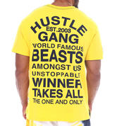 Hustle Gang - Corner Boy Knit Tee (B&T)-2522709