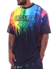 Makobi - Originals Paint Drip T-Shirt (B&T)-2522804
