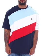 Makobi - Jersey Jacquard Angled T-Shirt (B&T)-2522846