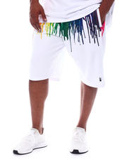 Makobi - Originals Paint Drip Shorts (B&T)-2522911