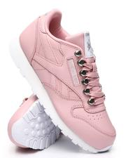 Girls - Classic Leather Sneakers (3.5-7)-2523484