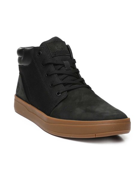 Timberland - Davis Square Leather Collar Chukka Shoes