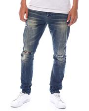 SMOKE RISE - Slim Tapered Torn Jean-2525198