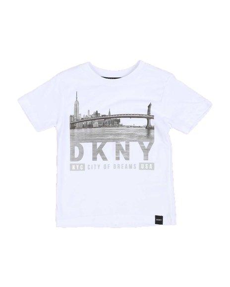 DKNY Jeans - NYC Skyline Tee (4-7)