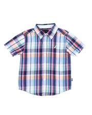 Sizes 2T-4T - Toddler - Plaid Button Down Shirt (2T-4T)-2521676