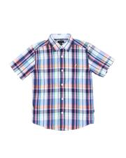 Boys - Plaid Button Down Shirt (8-20)-2521685