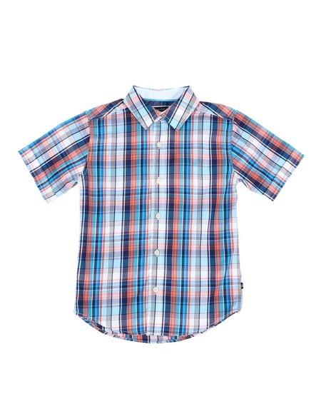 Nautica - Plaid Button Down Shirt (8-20)