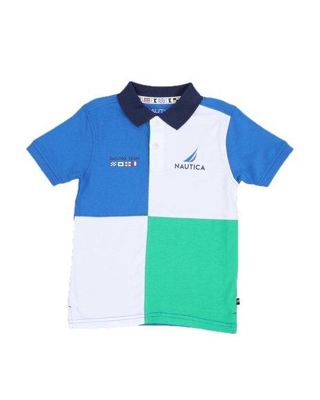 Nautica - Color Block Polo Shirt (4-7)