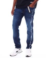 Jeans & Pants - PRINTED LEG BELTED JEAN-2524462