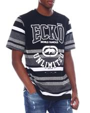 Ecko - WORLD FAMOUS STRIPES SS KNIT TEE-2525145