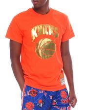 Shirts - KNICKS Midas Foil Tee-2525476