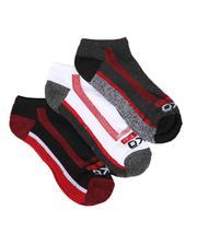 Ecko - 3 Pack 1/2 Cushion No Show Socks-2522346