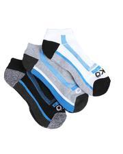 Ecko - 3 Pack 1/2 Cushion No Show Socks-2522347