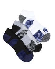 Ecko - 3 Pack 1/2 Cushion No Show Socks-2522348