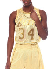 Mitchell & Ness - LAKERS Midas Swingman Jersey - Shaquille O'Neal-2525486