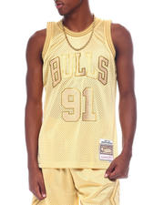 Mitchell & Ness - BULLS Midas Swingman Jersey - Dennis Rodman-2525530