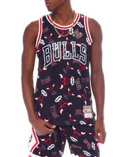 Mitchell & Ness - BULLS Tear Up Pack Tank-2525590