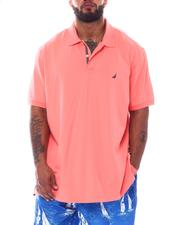 Nautica - Solid Short Sleeve Polo (B&T)-2526209