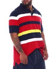Shirts - Jersey Short Sleeve Knit Polo Shirt (B&T)-2526322