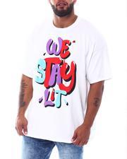 Shirts - We Stay Lit T-Shirt (B&T)-2526419
