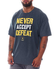 Buyers Picks - Never Accept Defeat Army T-Shirt (B&T)-2526030