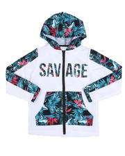 Outerwear - Sublimated Print Savage Zip Up Jacket (8-20)-2521807