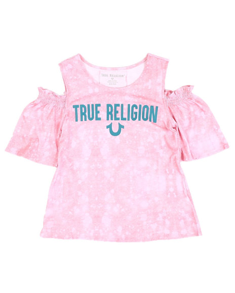 True Religion - Cold Shoulder Tee (7-16)