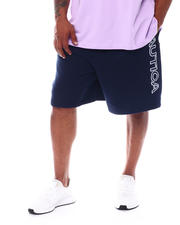 Nautica - Fleece Logo Knit Shorts (B&T)-2526288