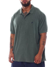 Nautica - Solid Short Sleeve Polo (B&T)-2526304