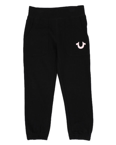 True Religion - Logo Sweatpants (4-6X)